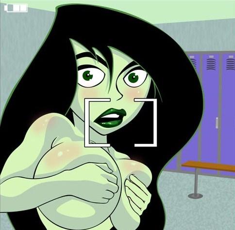 Shego topless