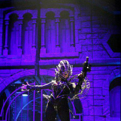 THE BORN THIS WAY BALL TOUR SANTIAGO , CHILE - 20/11/2012