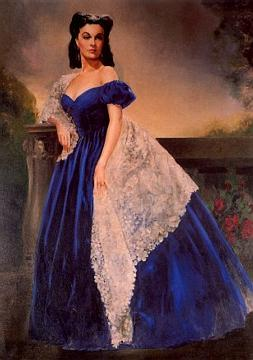 The portrait of Scarlett O'Hara
