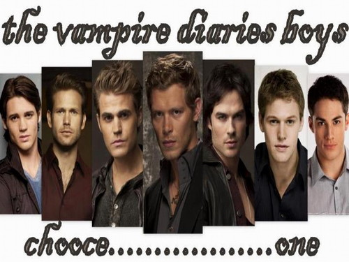 the vampire diaries boys