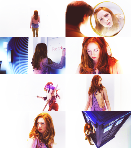 Amy in The Girl Who Waited