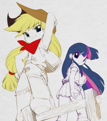 maçã, apple jack and Twilight