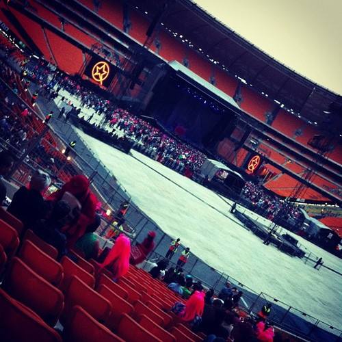 Born This Way Ball at putbol City, Johannesburg (pre-show)