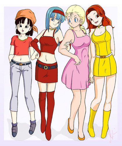 Dragon Ball GT Girls