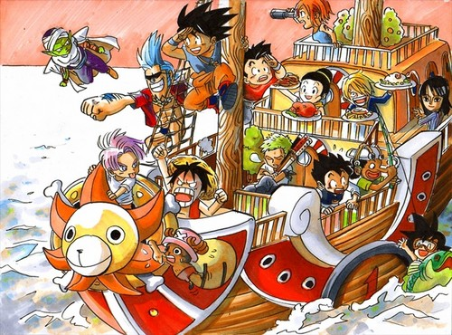 Dragon Ball and One Piece