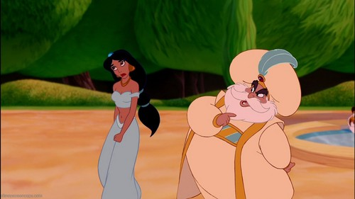 First scene of Princess Jasmine