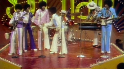 "Michael Doing ""The Robot"" During A 1974 Appearance On ""Soul Train"""