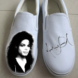 Michael Jackson slip on shoes