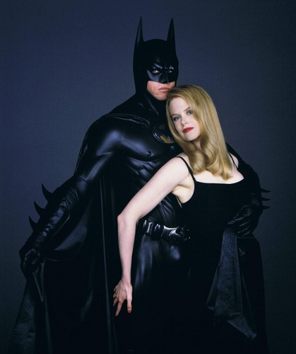 Nicole Kidman and Val Kilmer - Batman Forever