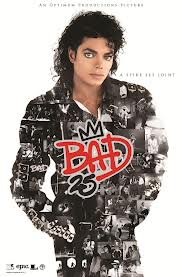 "Promo Poster Commemorating The ""25th"" Anniversary Of ""BAD"""