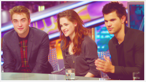 Rob,Kristen and Taylor
