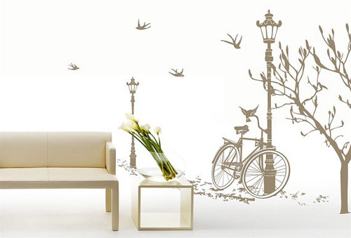 The Roadside Scenes Wall Sticker