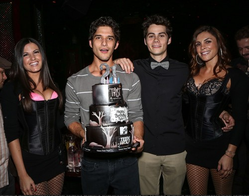 Tyler Posey's 21st Birthday Celebration at Tryst Nightclub in Las Vegas