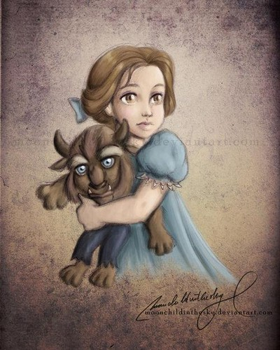 Beauty and the beast baby