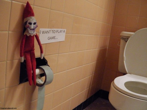 Jigsaw/Elf on the Shelf