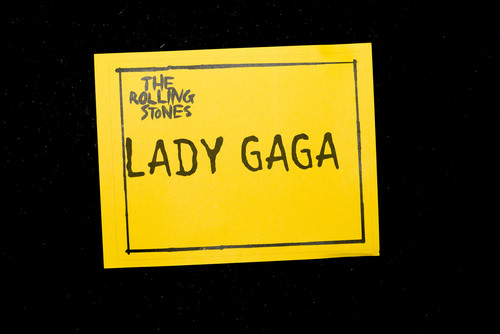 Lady Gaga/The Rolling Stones by Terry Richardson