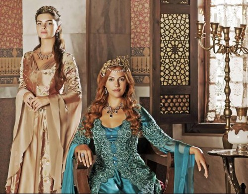 Mihrimah and Hurrem