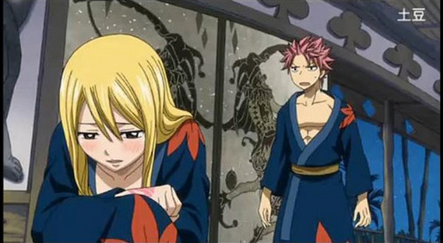 """Natsu is mad at me..."""