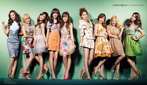 121221 SNSD on Vogue 일본 2013 February Issue