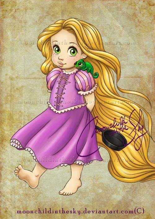 Baby Rapunzel Pahlawan Film Animasi Masa Kecil Fan Art 33173657 Fanpop Page 2