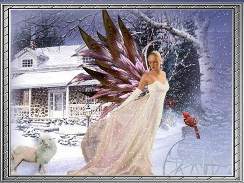 Christmas Fairy wallpaper