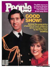 "Diana And Charles On The Cover Of ""PEOPLE"" Magazine"