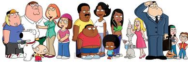 Family Guy, American Dad!, The Cleveland tunjuk