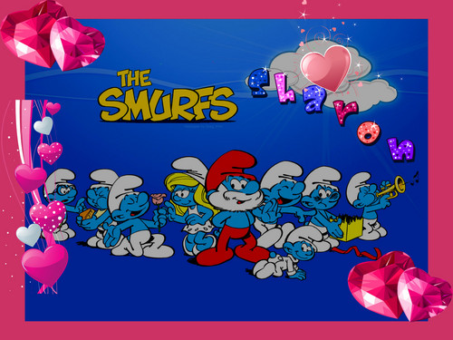 I LOVE MY SMURFS!!