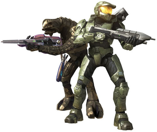 Master Chief and Arbiter