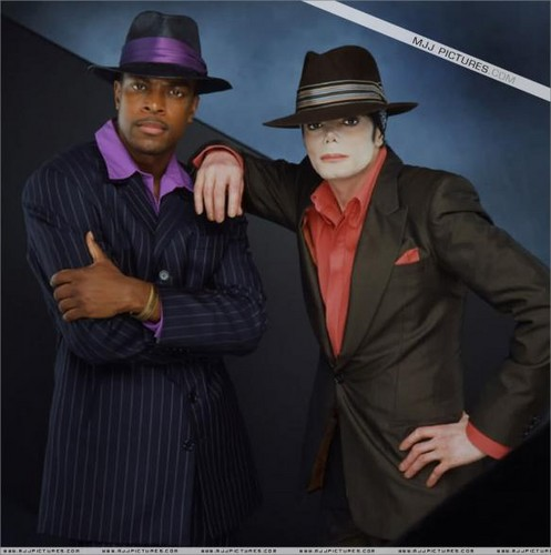 Michael And Good Friend, Chris Tucker