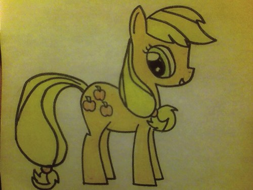 My Drawing Of Applejack