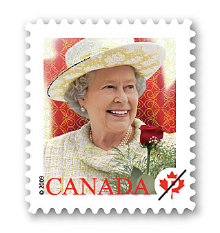 Queen Elizabeth II stamp