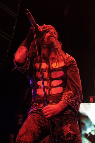 Rob Zombie perform at O2 Arena in London (2012.11.26.)