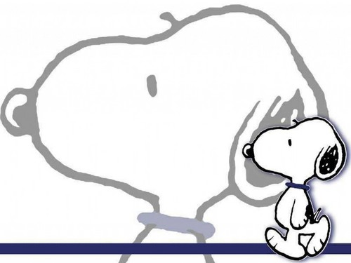 Snoopy achtergrond