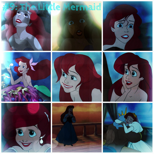 The Little Mermaid collage