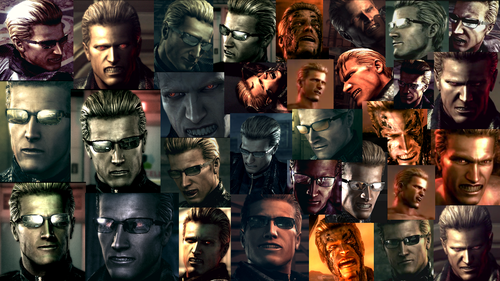 The Many Faces of Wesker