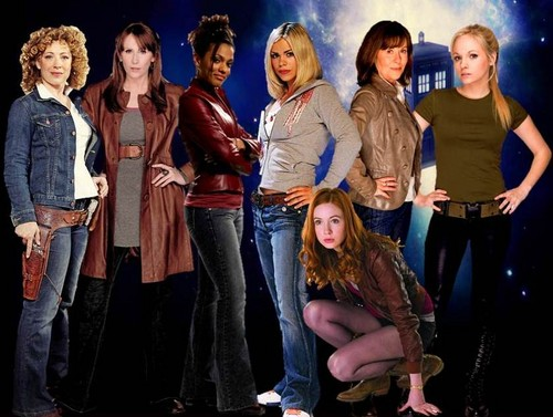 The female companions of Doctor Who