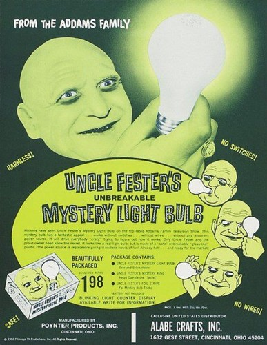 Uncle Fester Lightbulb