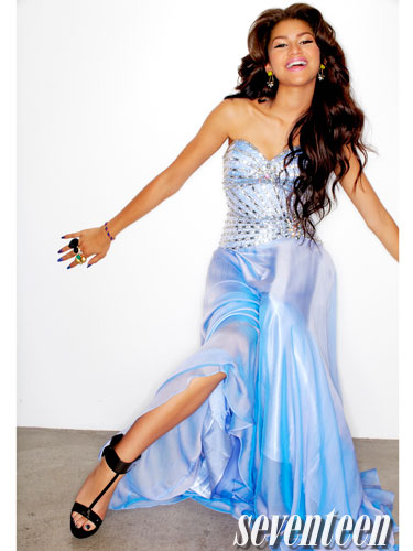 Zendaya on the Cover of Seventeen Magazine – Prom Edition