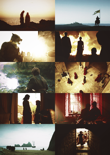 Silhouettes + Game of Thrones