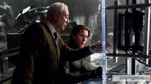 Alfred- always on Bruce's right side
