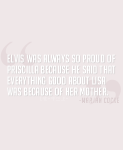Elvis about his ladies