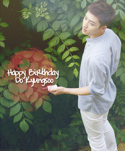 Happy Birthday Kyungsoo~♥