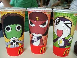 Japanese Wicdonalds Cups