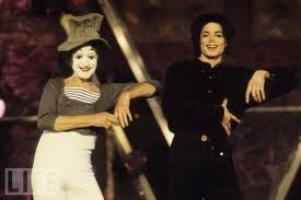 Michael And Legendary French-born Mime, Marcel Marceau