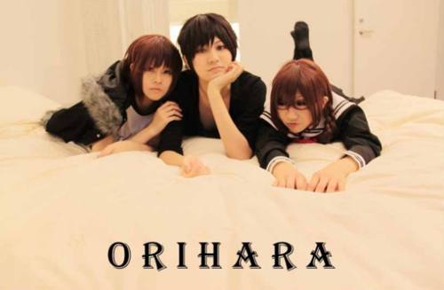 Orihara siblings cosplay