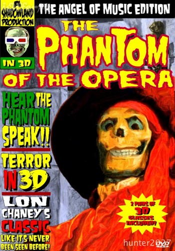 Phantom of the Opera 1925 3D: Angel of Musica Edition Cover