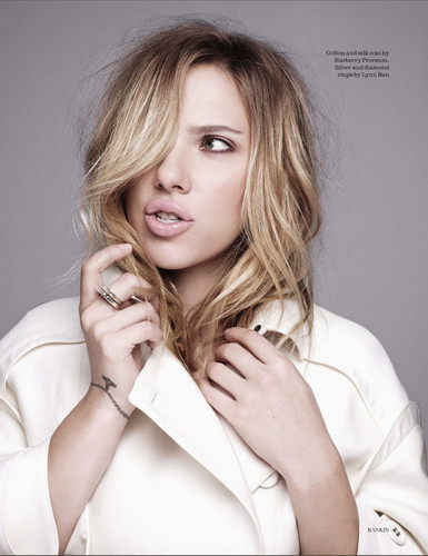 Scarlett Johansson for Elle UK