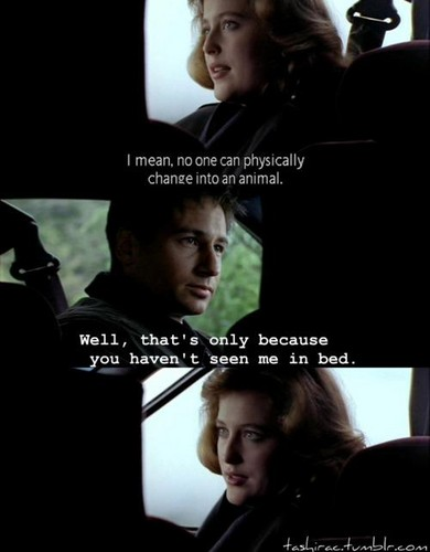 X-files funny quote