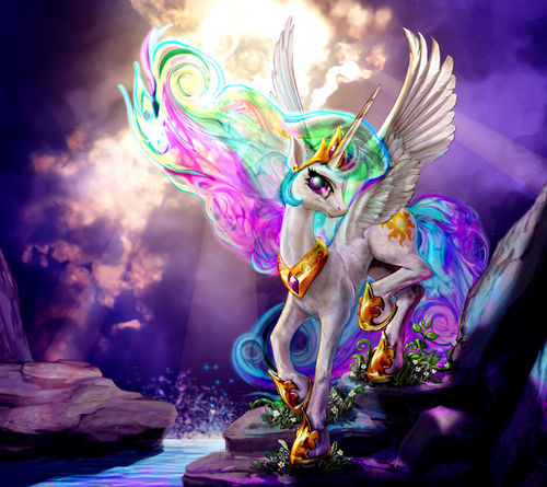 Beautiful Celestia art